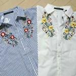 【ZARA風】しまむら¥900の花柄刺繍シャツが大人気!!まとめ買い必死?!