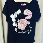 しまむら◎4月21日更新!!最新しまパト戦利品!☆チェシャ猫Tシャツが可愛い♡