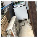 三重県名張市で洗濯機とエアコンの処分のご依頼でした