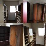 婚礼家具、クローゼット、チェスト、整理タンス、書棚、本箱、下駄箱、和箪笥、の運び出し処分の方法