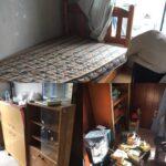 名張市で引っ越しに伴い不要となった残置物の撤去、不用品回収、処分のご依頼でした。
