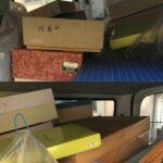 伊賀市で蔵(蔵の解体のため)で使っていたスチール 棚 ラック棚の買取をさせていただきました。