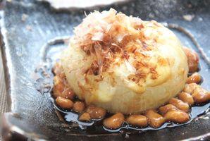 玉ねぎ納豆 チーズ