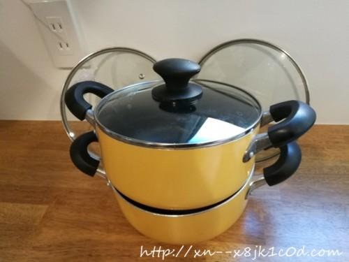 捨てた鍋とフタ