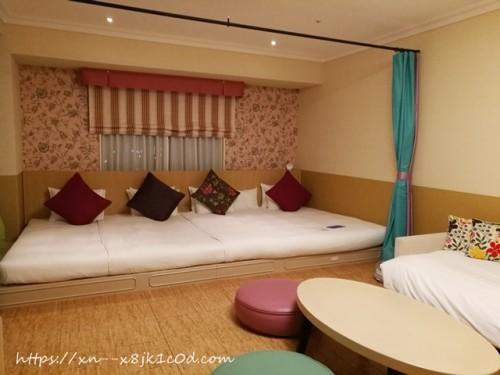 オリエンタルホテル東京ベイの部屋(ミルフィユ)