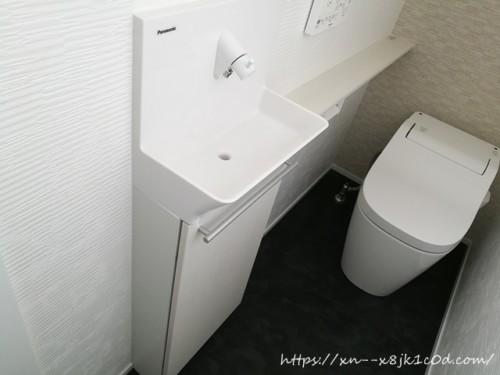 トイレのカウンター