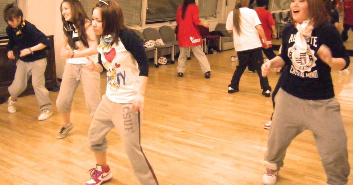 フラッシュモブダンス練習