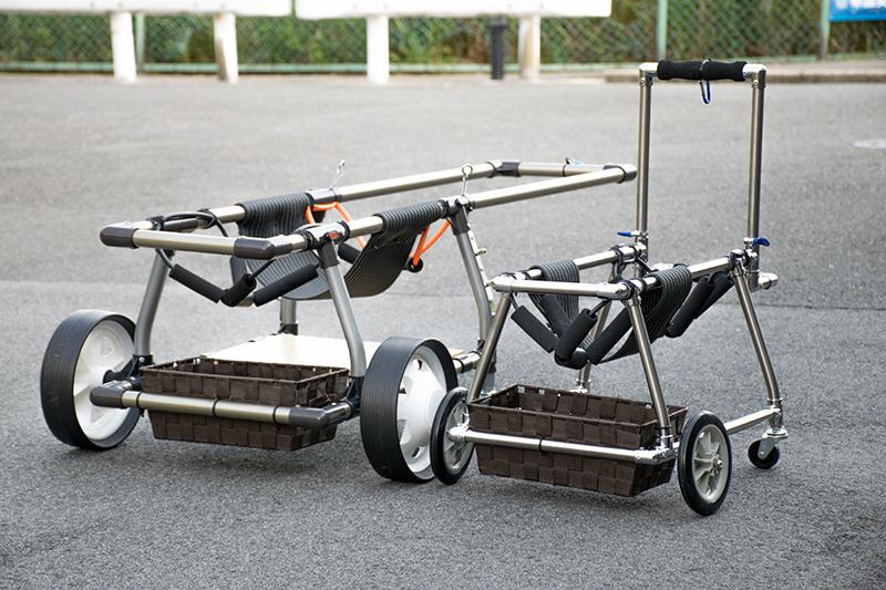 犬用車椅子イメージ写真