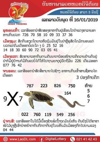 ปัญหาพารวย 16/1/2562, ปัญหาพารวย 16-1-2562, ปัญหาพารวย, ปัญหาพารวย 16 ม.ค 2562, หวยลาว, เลขลาว