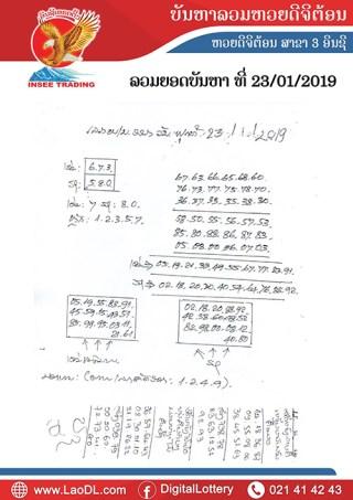 ปัญหาพารวย 23/1/2562, ปัญหาพารวย 23-1-2562, ปัญหาพารวย, ปัญหาพารวย 23 ม.ค 2562, หวยลาว, เลขลาว