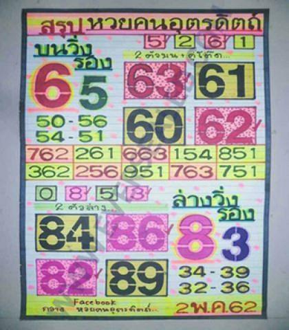 หวยคนอุตรดิตถ์2/5/62, หวยคนอุตรดิตถ์2-5-2562, หวยคนอุตรดิตถ์ 2 พ.ค 2562, หวยซอง, หวยฅนอุตรดิตถ์, เลขเด็ดงวดนี้, เลขเด็ด, หวยเด็ด