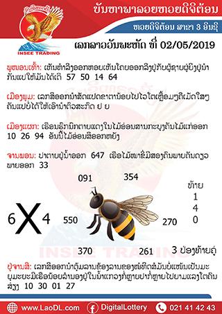 ปัญหาพารวย 2/5/2562, ปัญหาพารวย 2-5-2562, ปัญหาพารวย, ปัญหาพารวย 2 พ.ค 2562, หวยลาว, เลขลาว