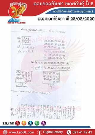 ปัญหาพารวย 23/03/2563, ปัญหาพารวย 23-03-2563, ปัญหาพารวย, ปัญหาพารวย 23 มี.ค. 2563, หวยลาว, เลขลาว