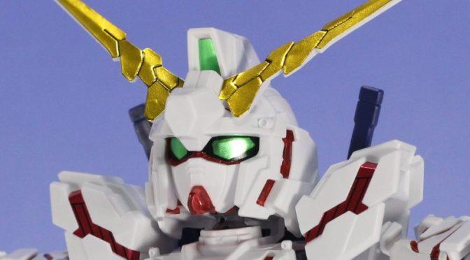 SD-EX ユニコーンガンダム(デストロイモード) サンプル素組レビュー