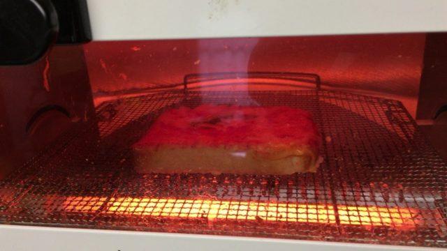ピザトーストをうまく焼く