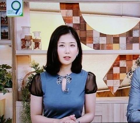 NHK桑子アナの刺激的な衣装に視聴者騒然「脅威の胸囲」(画像あり)