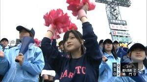 高校野球 甲子園 かわいい 女子 チアガール 2014