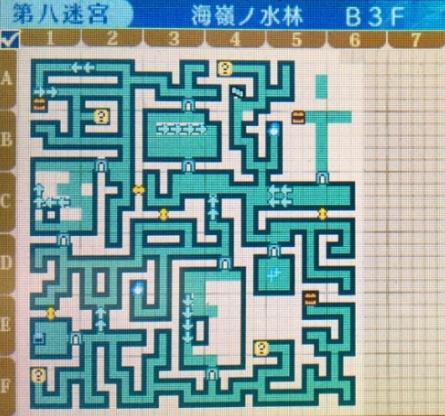 世界樹の迷宮X,第八迷宮