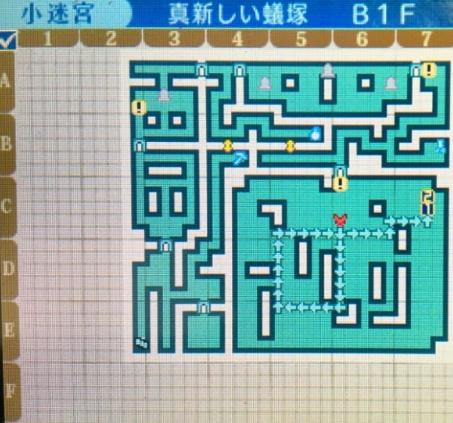 世界樹の迷宮X,マップ