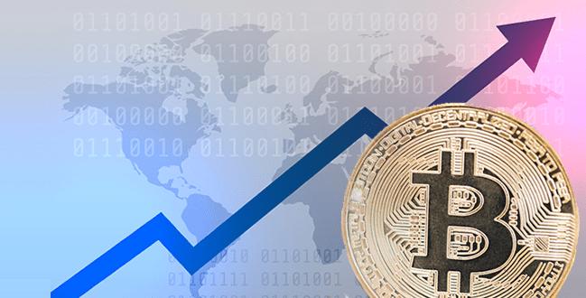 ビットコインの価格が過去最高値を大幅に更新し、60万円を突破!