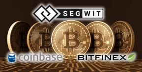 ついに取扱所も導入!SegwitをCoinbaseとBitfinexが採用
