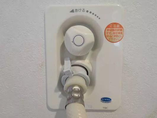 洗濯機の水道の蛇口の高さは少し高めにしておかないと後悔する3