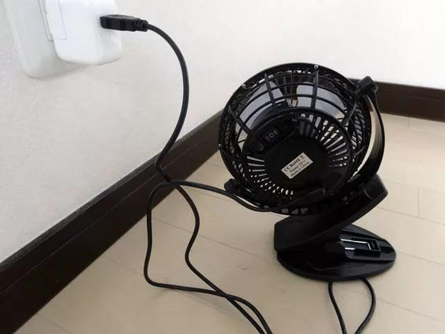 USB扇風機のおすすめは強力で静音のAmazonで買えるこれ!15