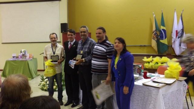 Eu, Ricardo Cavalcanti, Jair da Silva Araújo (2º colocado), Carlos Vinícius Veneziani dos Santos (6º colocado) e Andreia Donadon Leal