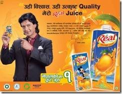 rajesh-hamal-real-juice-ad