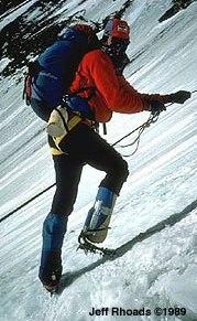 Tom whittaker one legged climber everest