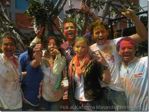 holi at karishma manandhar house_018