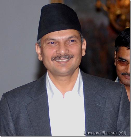 baburam_bhattarai_minister