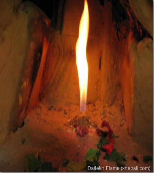 Dailekh_natural_flame_burning_forever_Rabin Khadka
