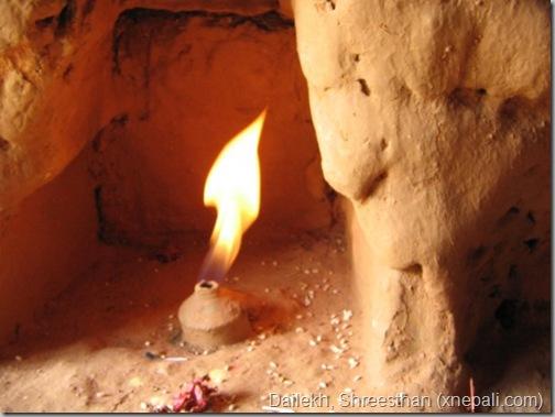 dailekh_shreesthan_jwala_natural_flame