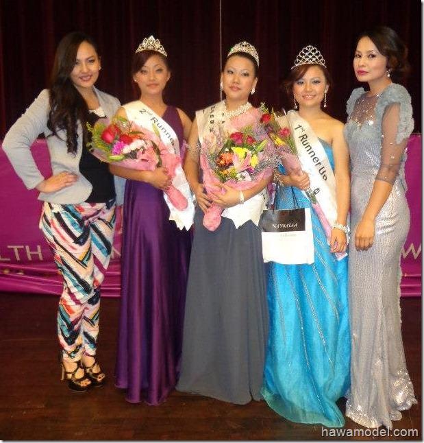 miss hongkong nepal_2012_participants_with_zenisha_malvika
