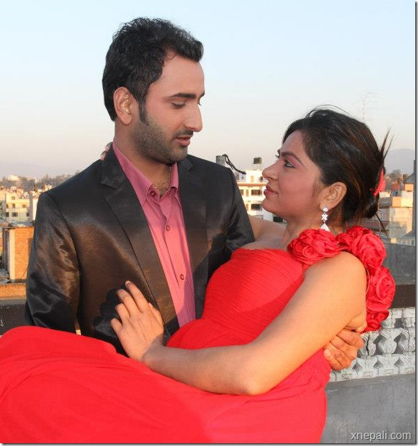 Krisha chaulagai _ pritam - valentine day photo (4)