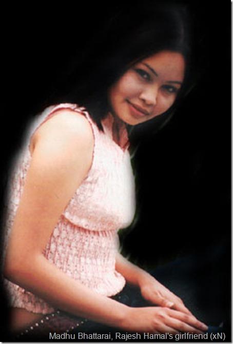 madhu-bhatrrai - rajesh hamal girlfriend