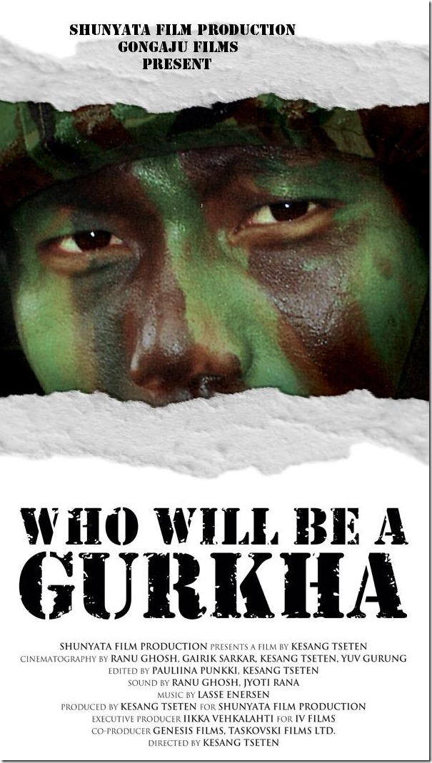 who will be gurkha- film poster