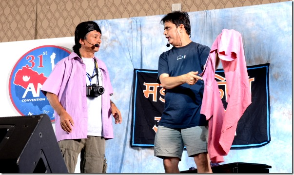 maha comedy show ana convention