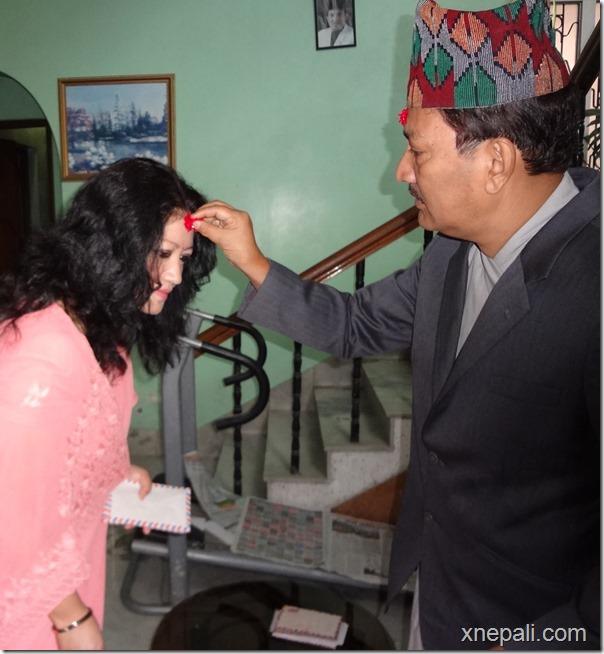 krishna malla and sharmila malla dahsain 2070