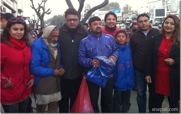chha ekan chha team distribute jackets