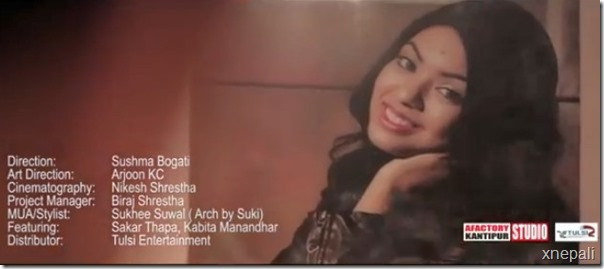 kabita manandhar in music video 3