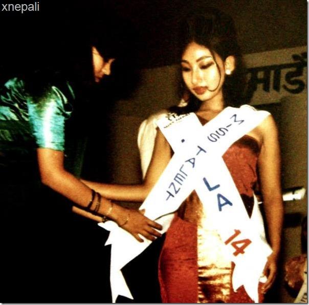 miss Nepal 1996 miss talent