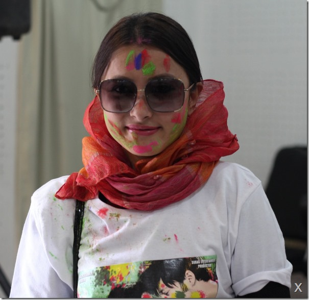 namrata shrestha 1 november rain - holi photos 1