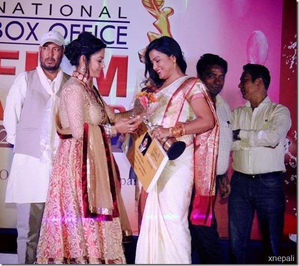 Rekha Thapa best actress award film award ma  (3)