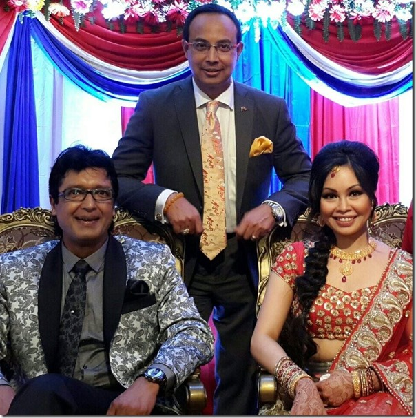 rajesh hamal and madhu with guest