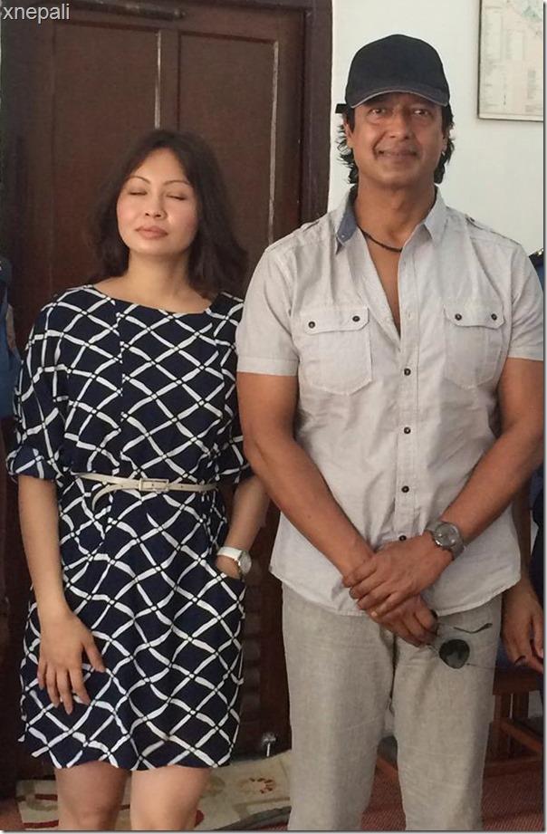 rajesh hamal honeymoon trip to pokhara with police officer