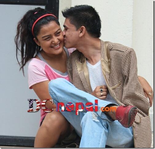 rekha thapa and sudarshan gautam