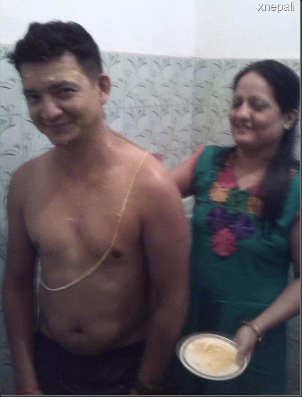 risha singh and gajendra thapa marriage  (6)