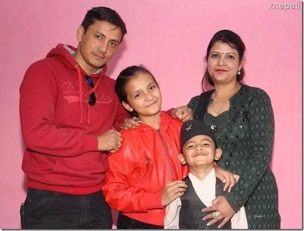 saugat bista family